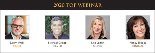 Top Sales & Marketing Awards 2020 - Webinar - Winners