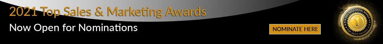 Nominate Here - Top Sales & Marketing Awards - October 2021